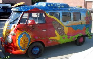 Magic bus, Volkswagen, Woodstock, hippies, 1969, Noble Chaos, Brent Green, Vietnam War, drugs, sex, rock 'n' roll