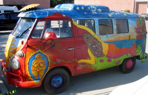 Magic bus, Volkswagen, Woodstock, hippies, 1969, Noble Chaos, Brent Green, Vietnam War, drugs, sex, rock 'n' roll